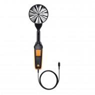 Velmi přesná vrtulková sonda (Ø 100 mm), vč. teplotního senzoru, připojovacím kabelem