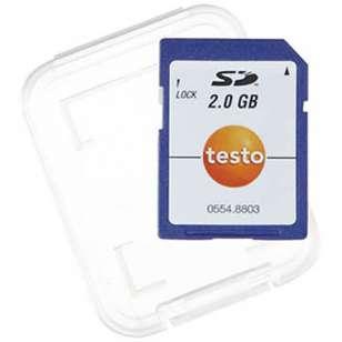 SD karta pro sběr naměřených dat