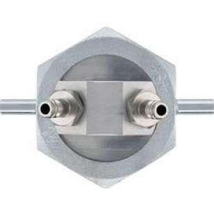 Jednotrubková krytka, připojení na plynové potrubí