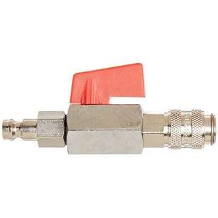 Jednocestný ventil k uzavření potrubí