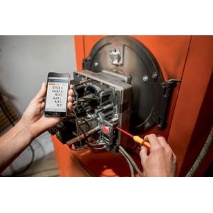 testo 330i analyzátor spalin sada se senzorem CO s kompenzací H<sub>2</sub